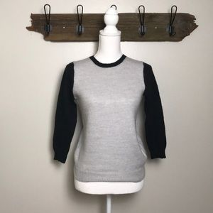 J. Crew Sweater Crew Neck Wool Blend